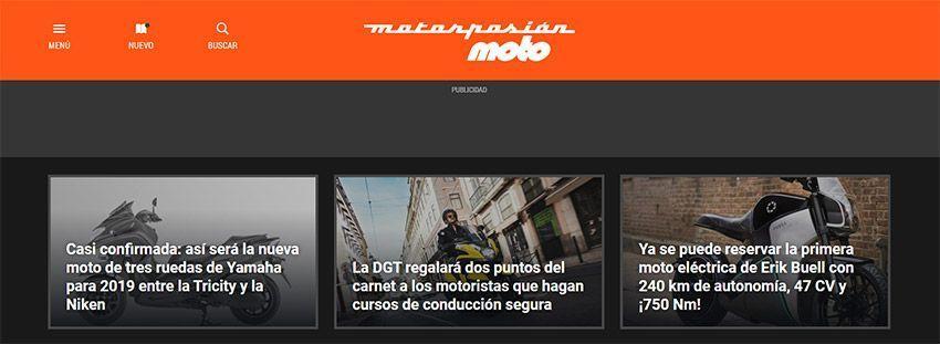 """Blog de """"Motorpasión Moto"""""""