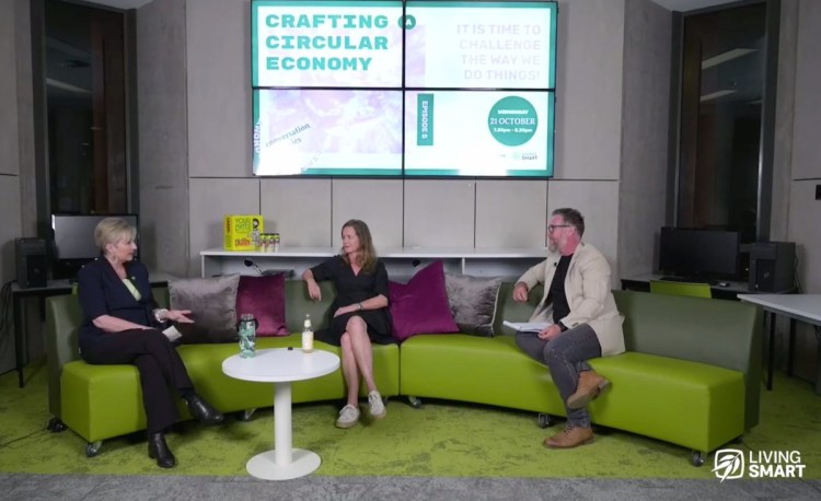crafting a circular economy, megyn carpenter, Jacqueline Wilson-Smith, Todd Widdicombe