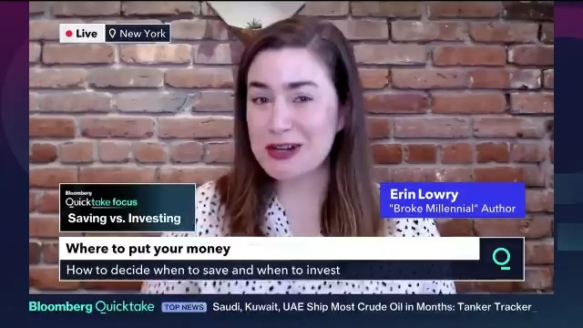 business: 💸 💸 When should you save and when should you invest? @BrokeMillennial discusses on @Quicktake