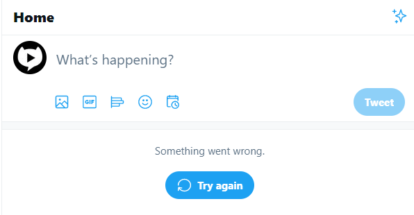 UPDATE - Our feed looks like this for the last 8 hours @TwitterSupport