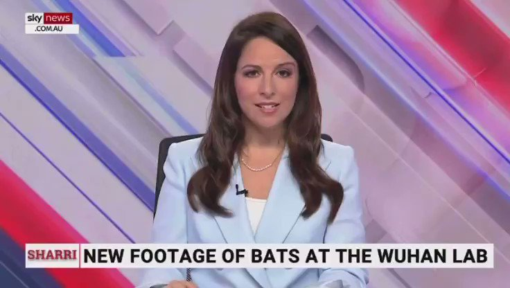 JUST IN - New footage shows Wuhan bio lab kept live bats inside the facility and data shows more than 15,000 experimental files