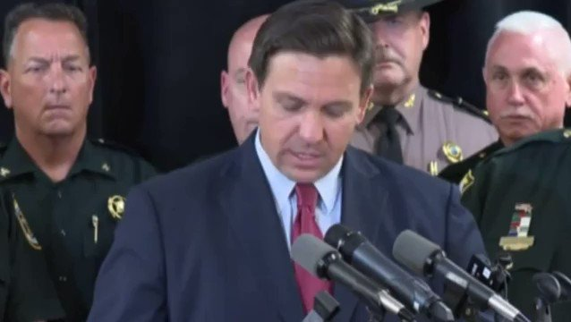 NEW - Gov. DeSantis to send Florida law enforcement to assist at the southern border with Mexico.
