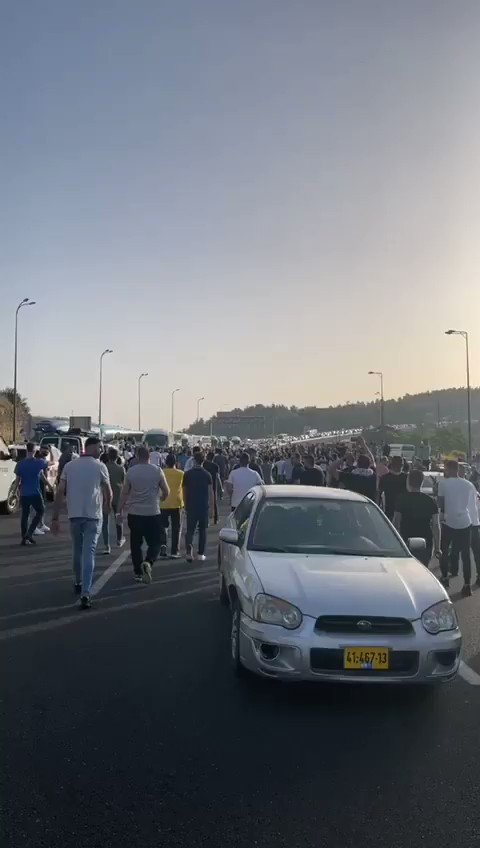 JUST IN - Jerusalem tensions high as thousands currently head to the Al-Aqsa mosque for the
