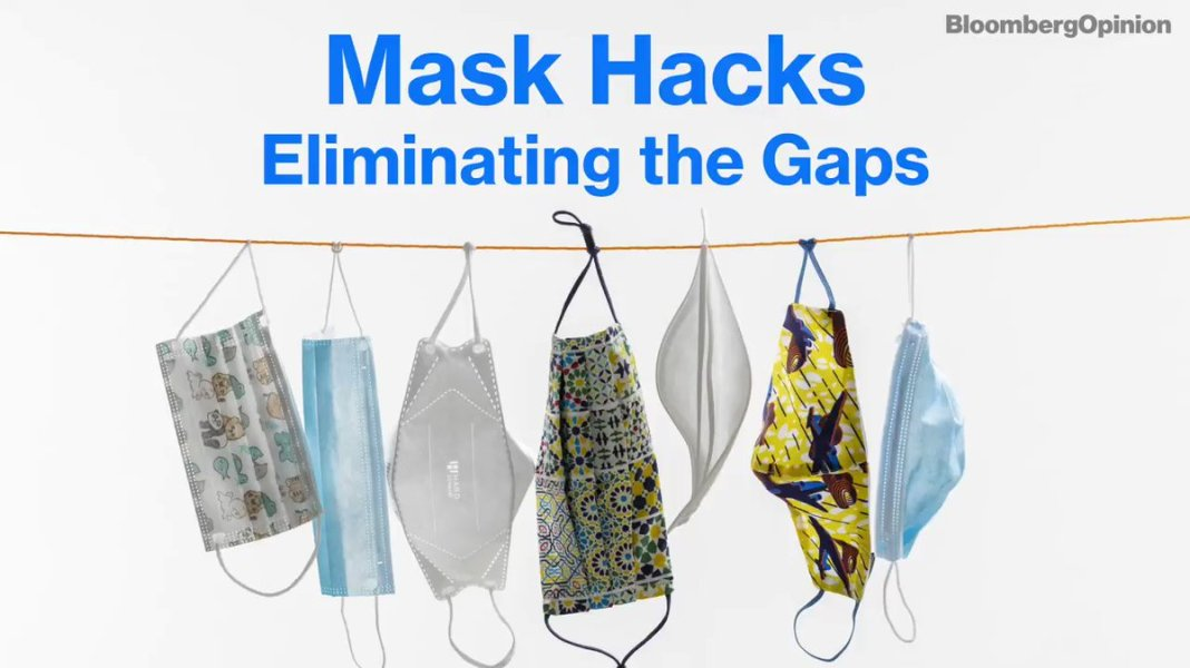 Many of us aren't wearing masks correctly, and that reduces efficacy by quite a lot.Gaps, diaph