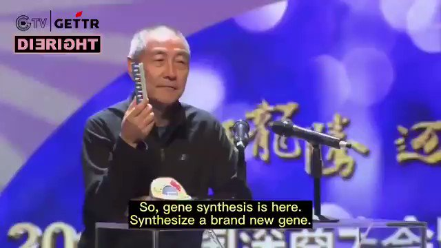 NEW - Wang Jian, Chairman and co-founder of the BGI Group, on synthesizing viruses or any life back in 2017. China's gene giant BGI is acc