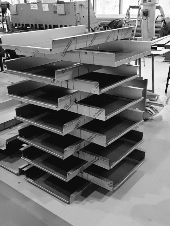 FORMA Z, первые готовые панели