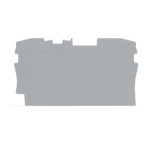 WAGO Krajnja i međuploča - debljine 1 mm- za kleme sa 2 provodnika - 2004-1291