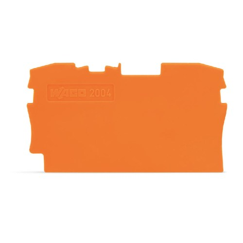 WAGO Krajnja i međuploča - debljine 1 mm - za kleme sa 2 provodnika - 2004-1292