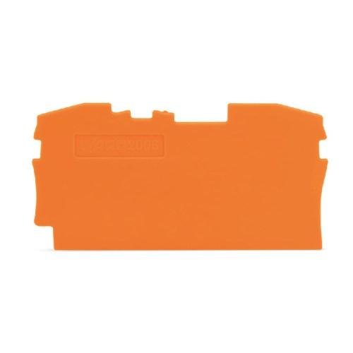 WAGO Krajnja i međuploča; debljine 1 mm - za kleme sa 2 provodnika - 2006-1292