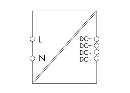 WAGO Svičersko (switched mode) napajanje - EPSITRON® COMPACT POWER - mono-fazno - 24 VDC / 2.5 A - 787-1012