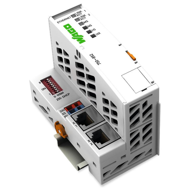 WAGO Kontroler Ethernet - 3-generacija - ECO - 750-852