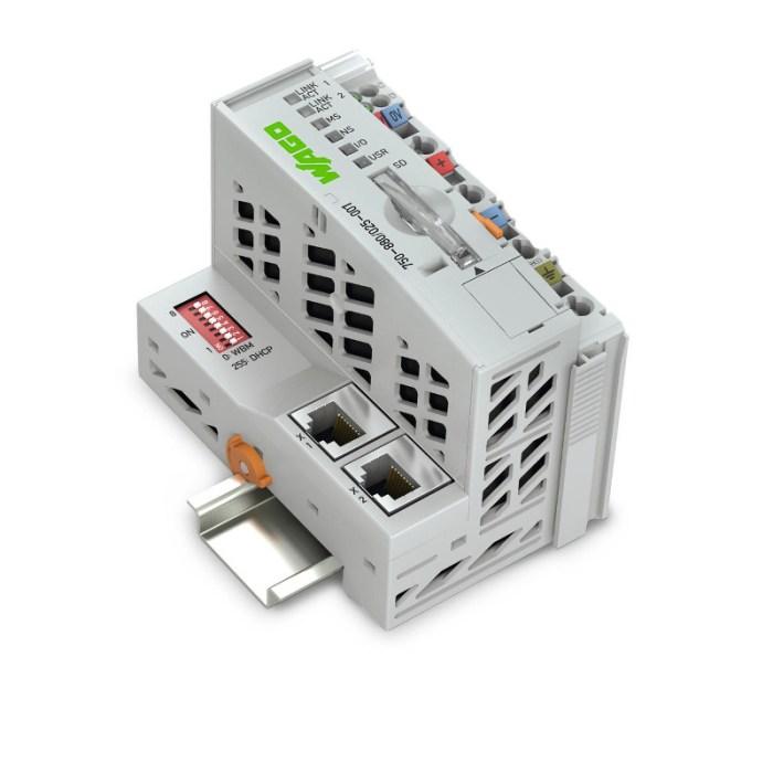 WAGO Kontroler Ethernet - 3-generacija - SD kartica Telecontrol tehnologija - za ekstremne temperature - 750-880-025-001