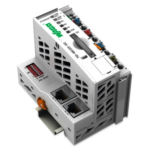 WAGO Kontroler Ethernet - 3-generacija - SD kartica - Telecontrol tehnologija - za ekstremne temperature - ECO - 750-880-025-002