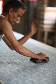 Handblock-printing-organic-cotton