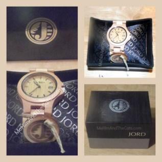Ely JORD watch in Box