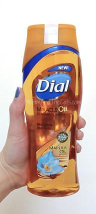Dial Miracle Oil BOdy Wash Marula Oil Infused #Sponsored