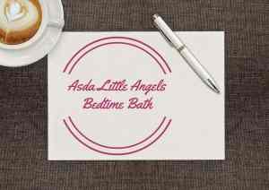 Asda Little Angels Bedtime Bath
