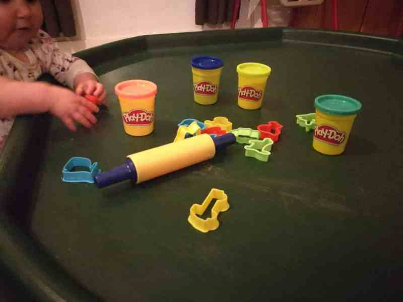 Play Doh Tuff Tray