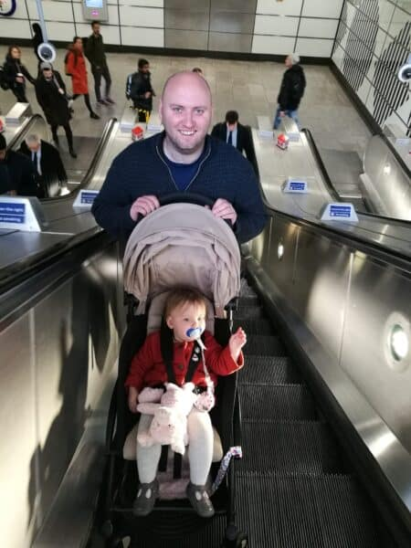 The Tube and a Toddler