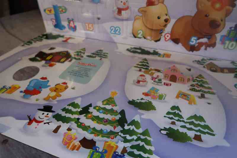 Toot-Toot Animals Advent Calendar Review