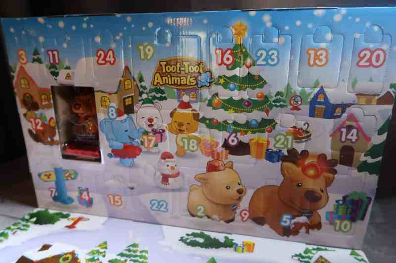 Toot-Toot Animals Advent Calendar Review