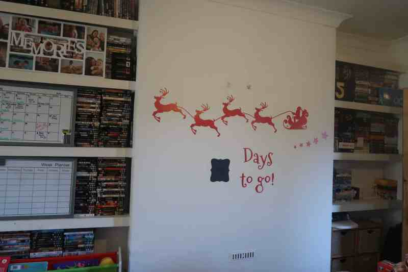 Festive Feature Wall