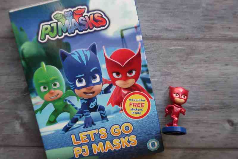 Let's Go PJ Masks: New DVD Out Now