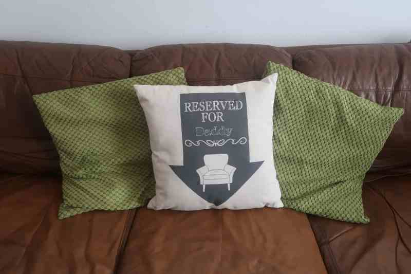 """Reserved Arrow 18x18"""" Cotton Cushion"""