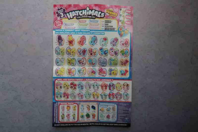 Hatchimals collector list