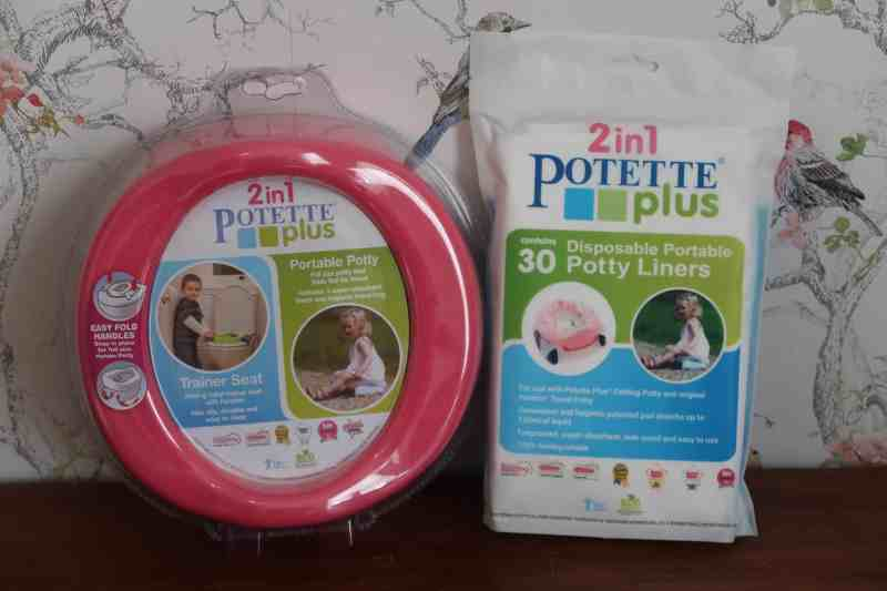 Potette and liners