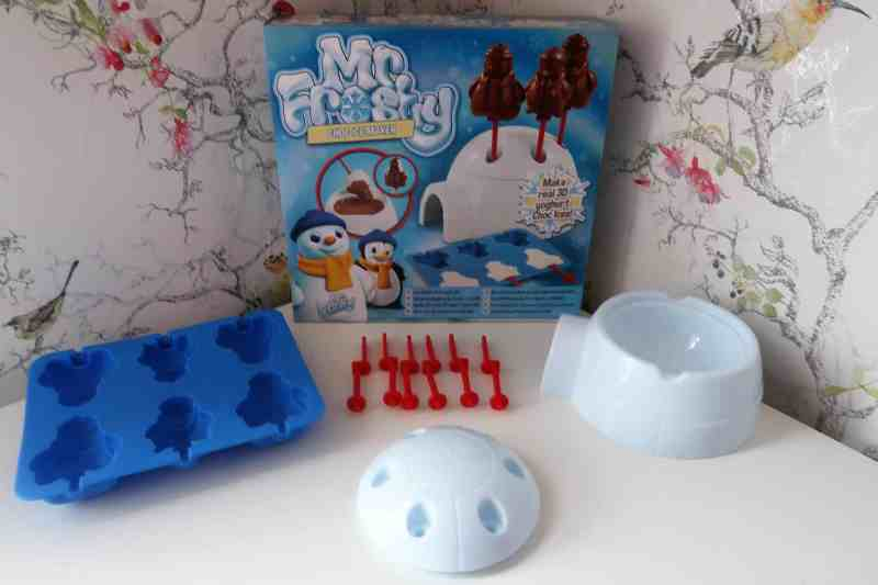 Mr Frosty Choc Ice Maker contents
