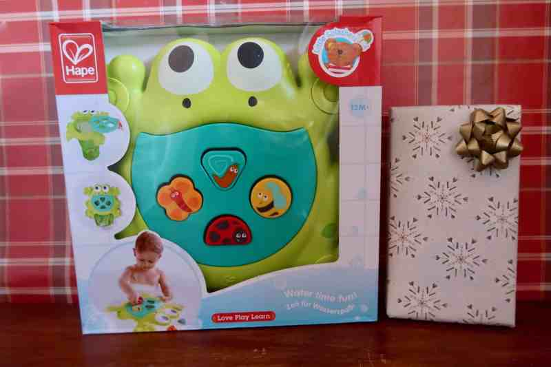 Hape Feed Me Bath Frog Toy