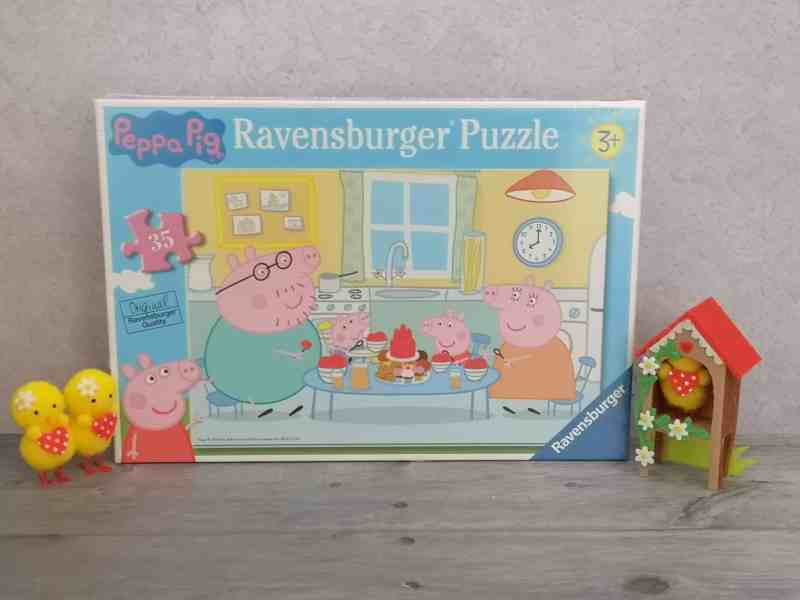 Peppa Pig Family Time puzzle