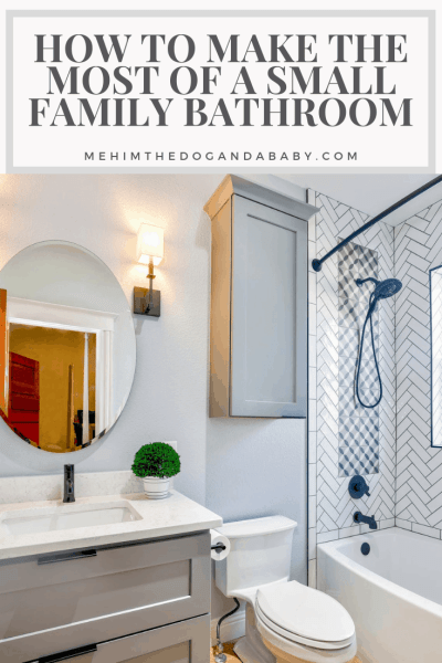How To Make The Most Of A Small Family Bathroom