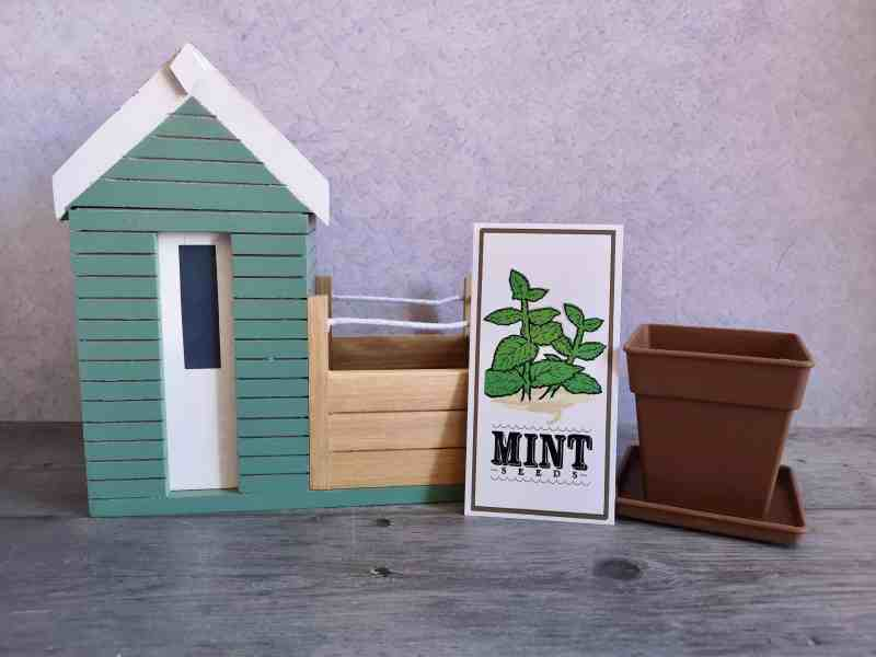 Beach Hut Planter from Red Candy