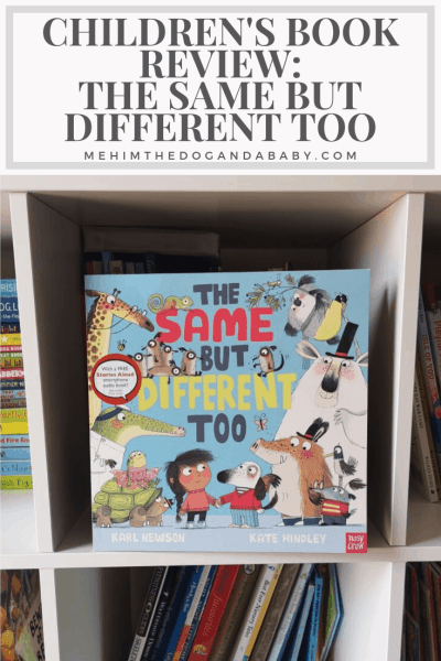 Children's Book Review: The Same But Different Too