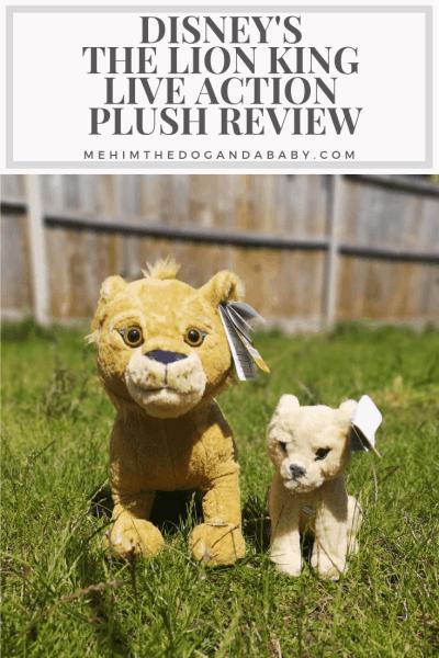 Disney's The Lion King Live Action Plush Review