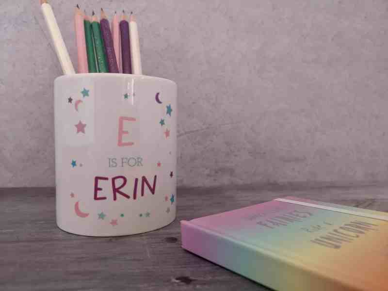 GiftPup personalised pen pot