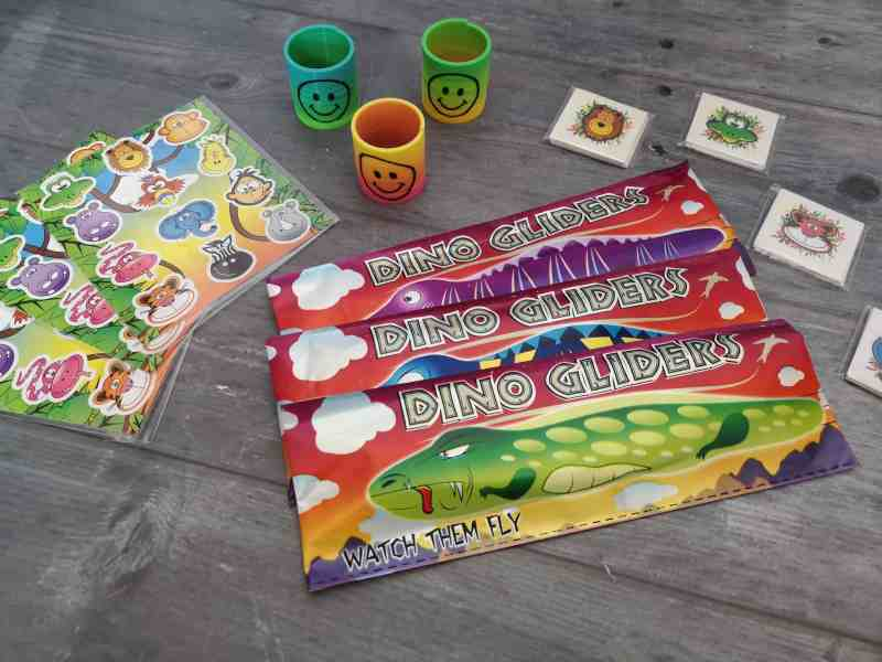 Party bag products from PoundToy