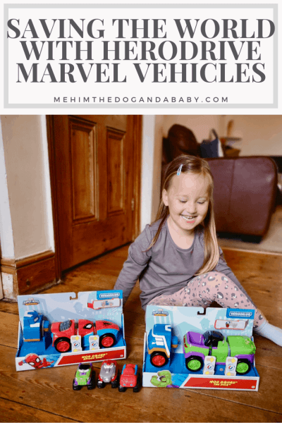 Saving The World With Herodrive Marvel Vehicles