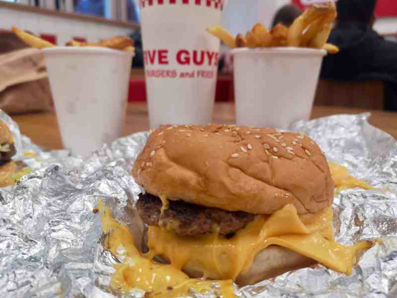 Covent Garden Five Guys