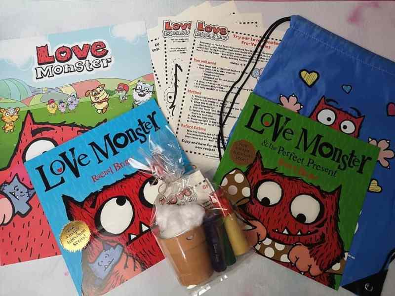 Love Monster Activities