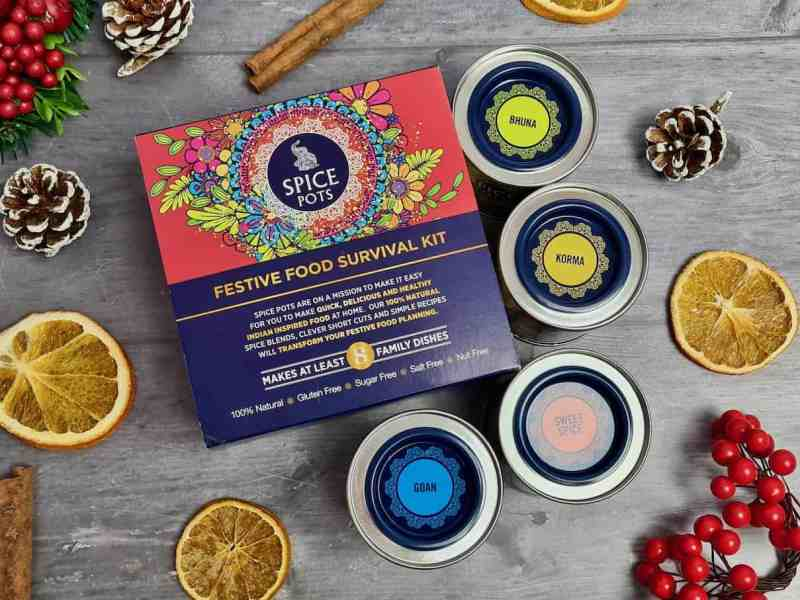Festive Food Survival Kit from Spice Pots
