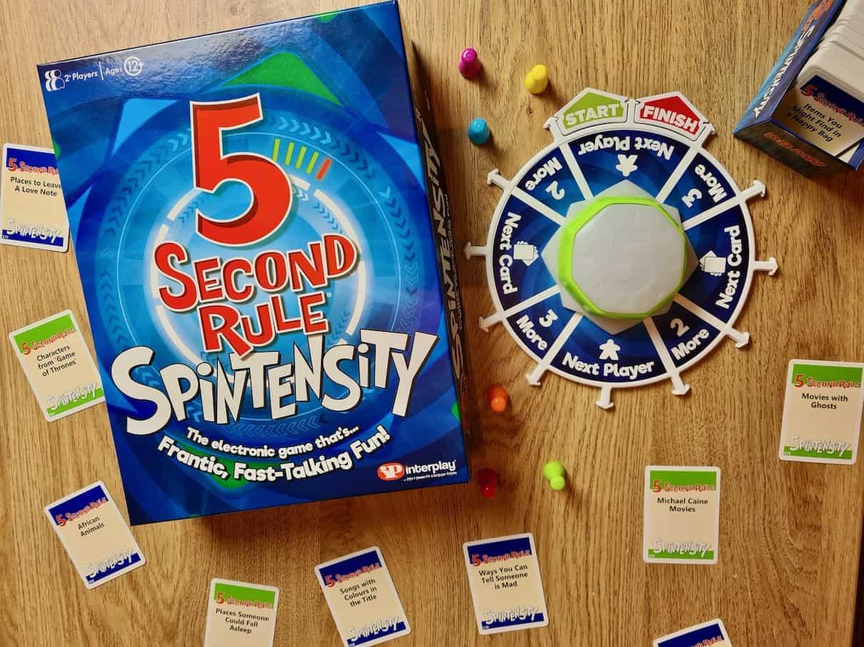 5 Second Rule Spintensity