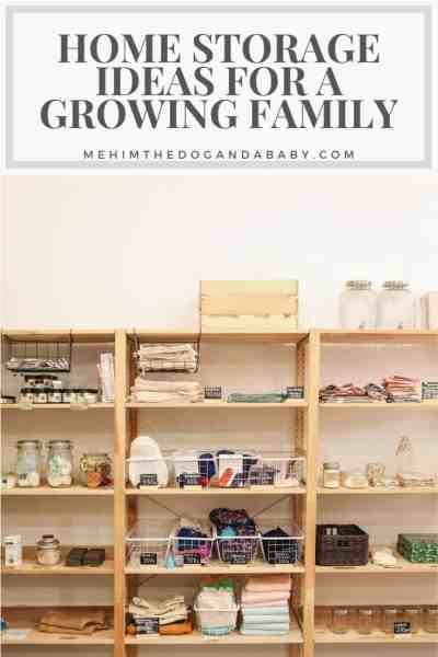 Home Storage Ideas For A Growing Family