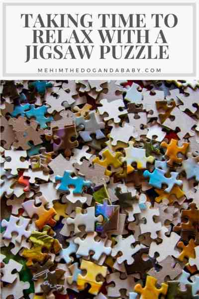 Taking Time To Relax With A Jigsaw Puzzle