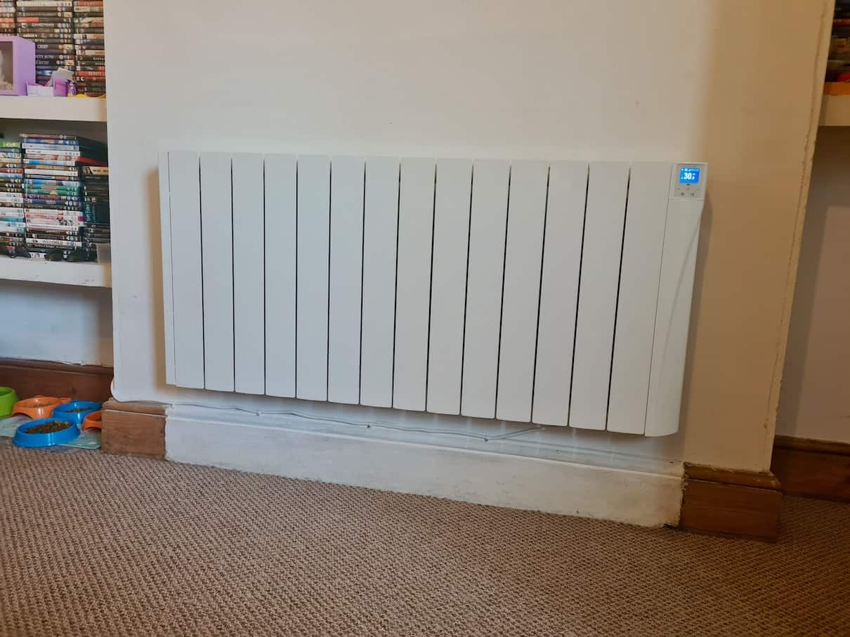 Large electric radiator