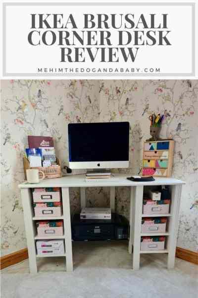 IKEA Brusali Corner Desk Review