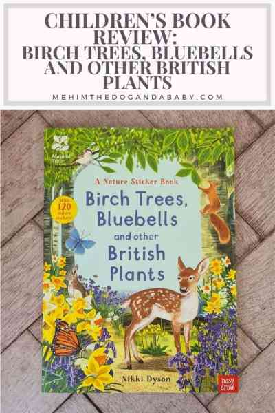 Children's book review: Birch Trees, bluebells and other British plants