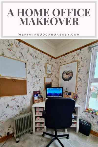 A home office makeover